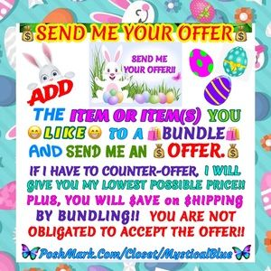 Other - 🐣💰SEND ME YOUR OFFER💰🐣